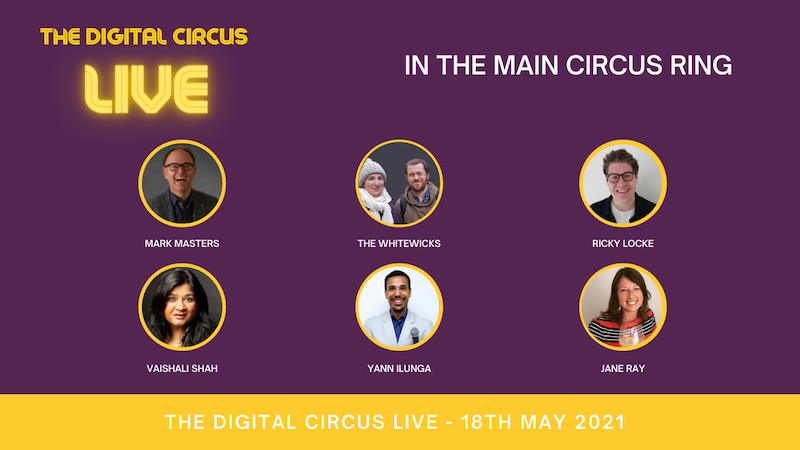 The Digital Circus LIVE 2021 ~ watch & learn on #Replay Keynote speakers